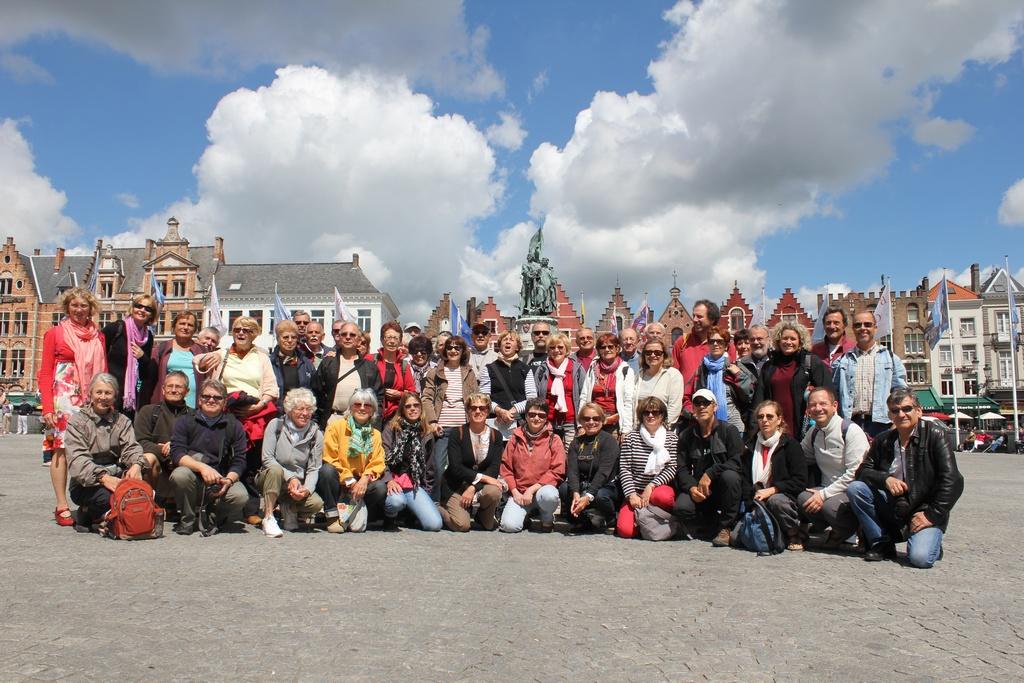 Les Garrigues sur la place de Bruges
