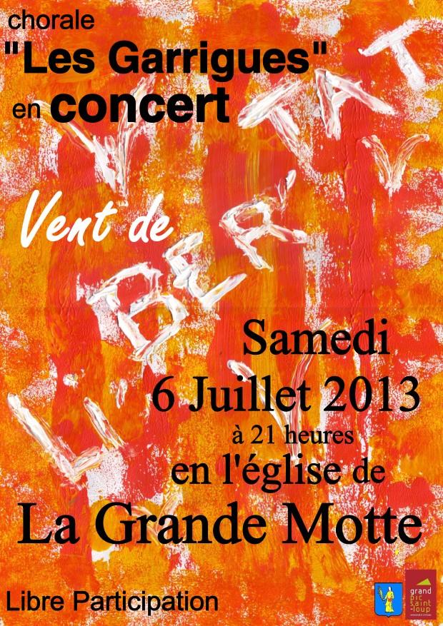 Concert La Grande Motte
