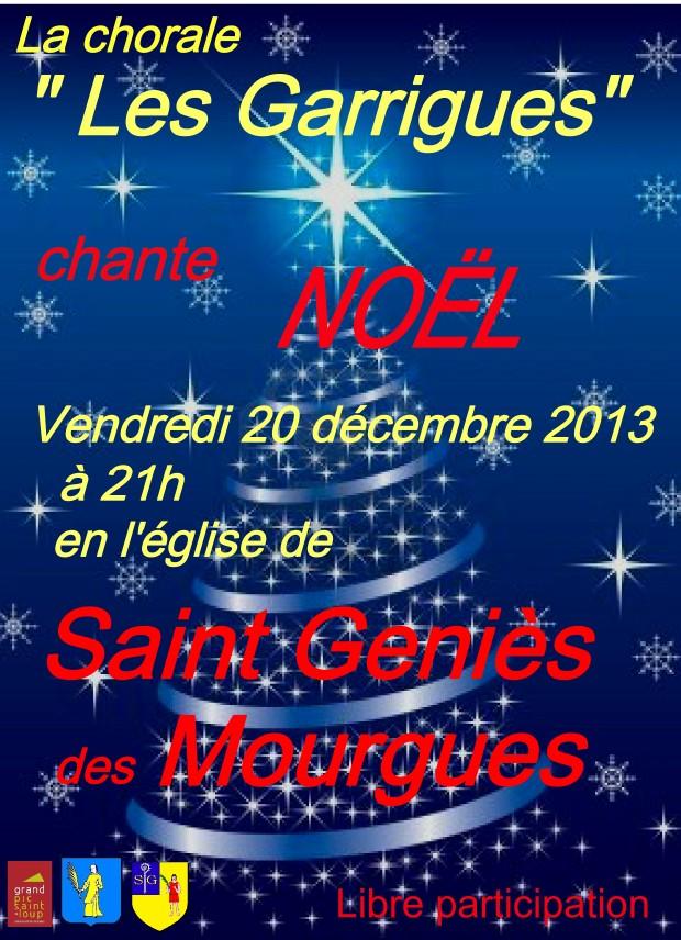 Concert à Saint Genies des Mourgues
