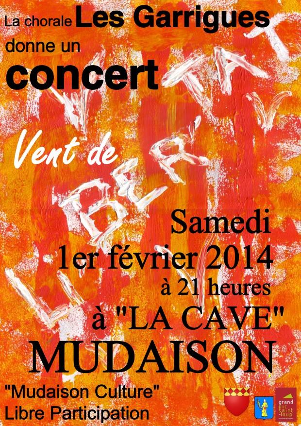 Concert à la Cave Mudaison