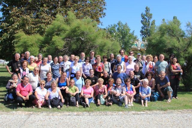 Le groupe à Talmont sur Gironde