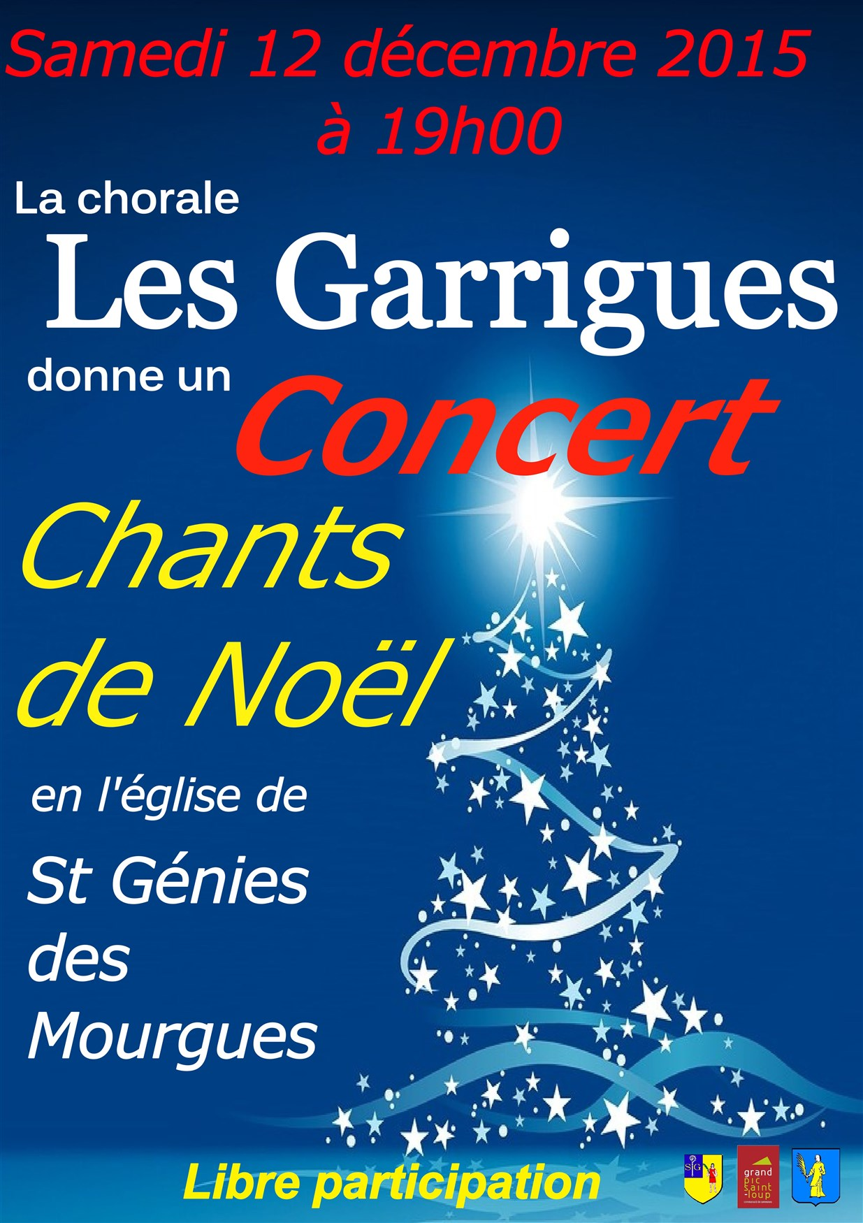 Concert de Noel St Genies des Mourgues