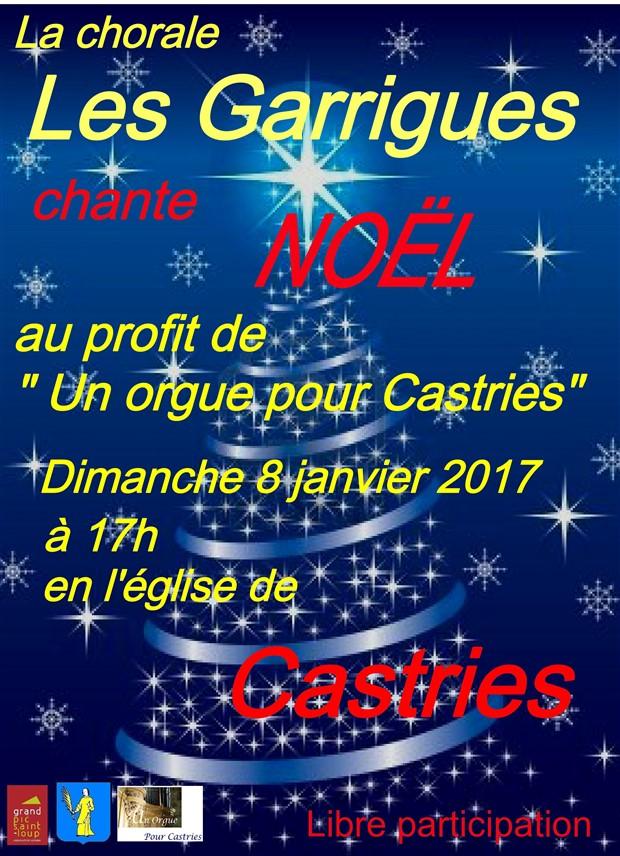 concert de noel à Castries 2017
